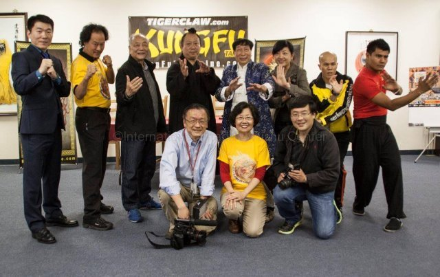 with Gigi of Kung Fu Tai Chi Magazine & guests