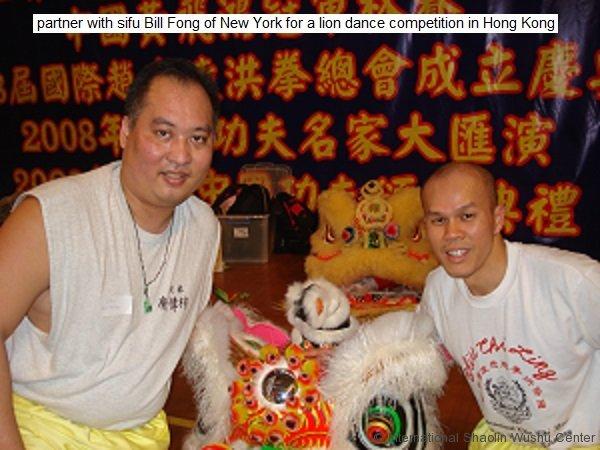 with sifu bill fong