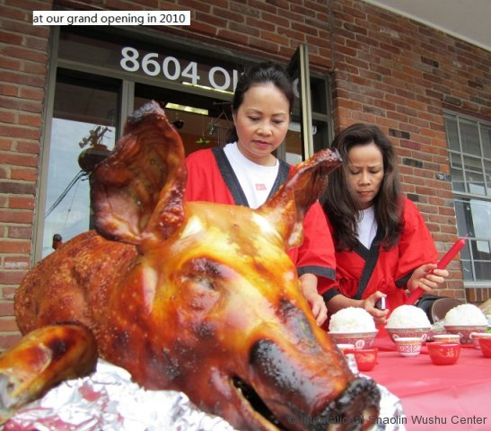 roast pig offer to the gods