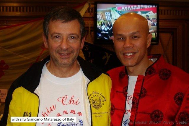with giancarto matarazzo of italy