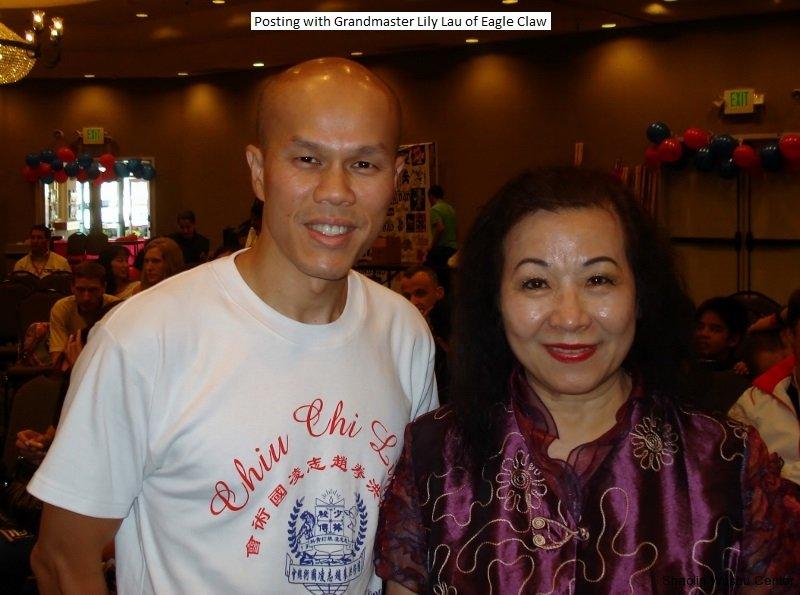 with sifu lily lau of eagle claw clan