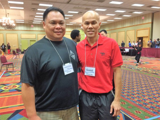 with sifu Andrew Kong of Chicago