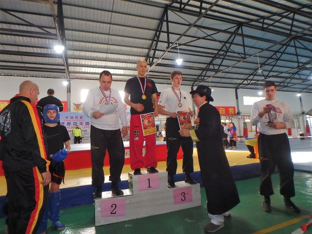 won the gold medal in china tournament