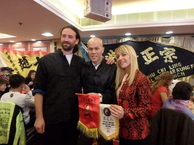 with sifu Alfonso & sifu anamaria of italy