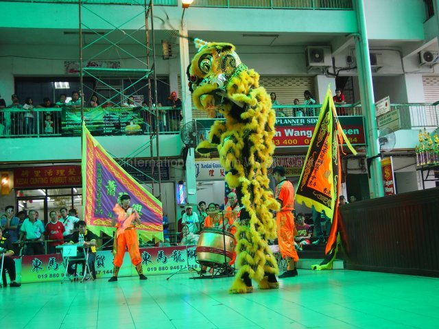 Sabah, Malaysia lion dance competition 2016