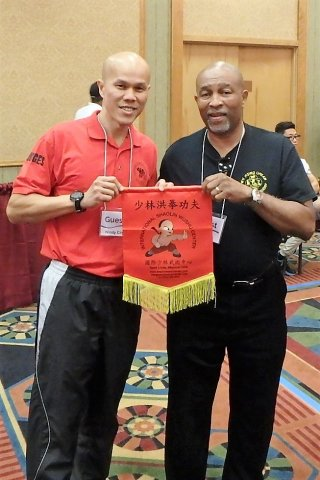 with sifu Larry Adams of University City